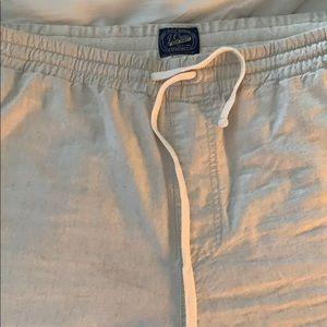 J Crew Cotton-Linen XL beige men's Shorts. $25